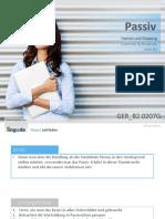 GER B2.0207G Passive Verbs