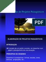 Aula Teórica 6 - Elaboração de Projeto Paisagístico
