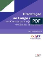 Orientação Ao Longo Da Vida Nos Centros QEP