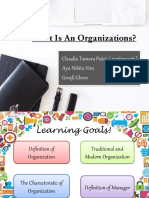 What is an Organizations