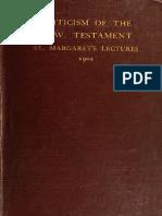 Criticism New Testament 3