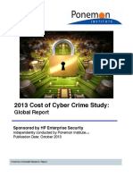 Ponemon2013CyberCrimeReport Global 1013 Final Report