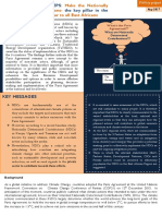 UCSD, SusWatch Kenya and TaTEDO Policy Brief 1 on NDCs in East Africa