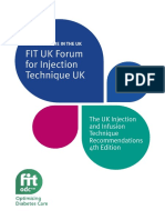 FIT UK Recommendations for injection technique