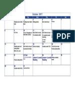 gr 1 october 2017 calendar