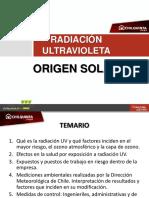 Radiacion UV de Origen Solar