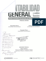 Contabilidad General y Analisis Financiero