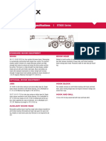 Catalogo Especificaciones TEREX RT600 Series