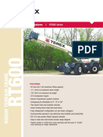 Catalogo TEREX RT600 Series
