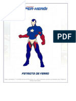 Crie Seu Próprio Super-herói _ Patriota de Ferro