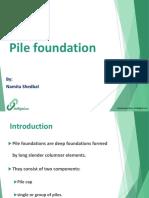 Pile Foundation Ppt