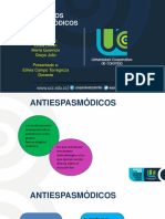 SEMINARIO antiespasmodicos