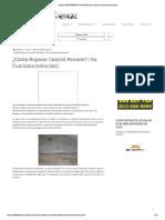 ¿Cómo REPARAR Control Remoto _ No Funciona (solución).pdf