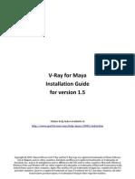 Install Vrayformaya