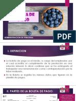Presentación Boletas de Pago