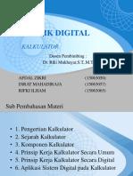Kalkulator - Teknik Digital