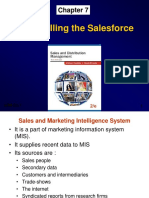 Sales Force Contol