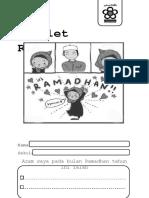 Booklet Ramadhan Saya