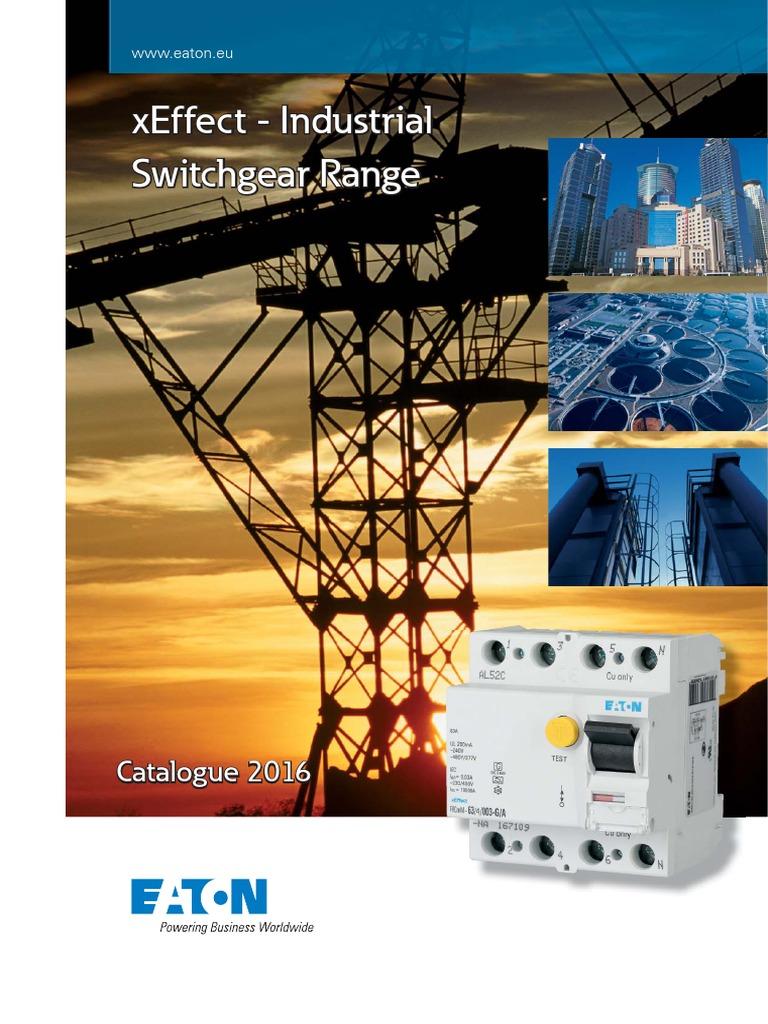MOELLER FAZ6-C63 230//400V IEC//EN 60898 Icn=6kA miniature circuit breakers