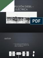 Propulsión Diesel – Eléctrica