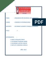 Organizacion Mundial Del Comercio