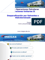 Curso INEGAS 4to Dia Desparafinacion Ppt