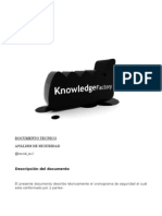 Documento Técnico - Seguridad