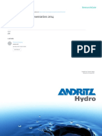 Andritz Hydro Indonesia Presentation 2014