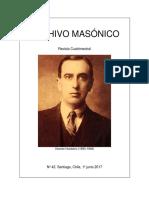 Vicente Huidobro y la masonería de Manuel Romo Sánchez