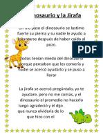 El Dinosaurio y La Jirafa