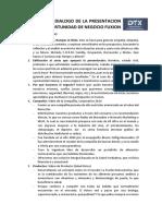 Dialogo de La Presentacion de La Oportunidad de Negocio Fuxion Dtx (1)