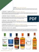 Classic Cocktails via Clement