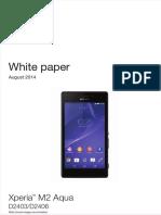 Whitepaper en d2403 d2406 Xperia m2 Aqua