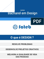 Bacharel Design Fateb