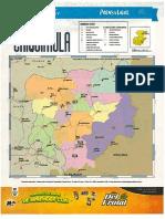 Mapa Politico de Chiquimula