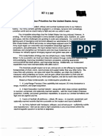Modernization Priorities for the U.S. Army