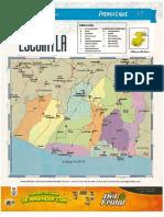 Mapa Politico Escuintla