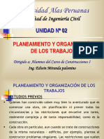 Semana 2 Planeamiento y Organizacion de Una Obra