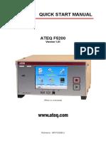 Manual ATEQ F5200