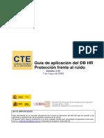 Guía de aplicación del DB HR. Protección frente al Ruido.pdf