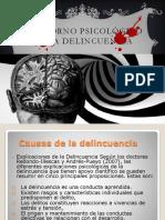 Trastorno Psicológico en La Delincuencia (1)