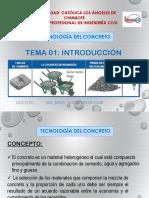 INTRODUCCION - Tecnologia Del Concreto