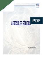Presentación Aerosoles Sólidos 2. Clase