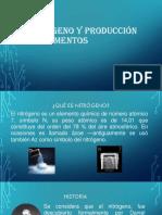 Nitrógeno y Producción de Alimentos