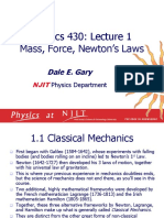 Taylor - 1 Mass, Force, Newton's Laws