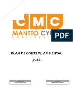 Plan de Control Ambiental