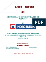Deposits (1)
