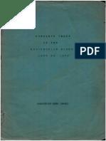 Index Rosicrucian Digest 1944-1947