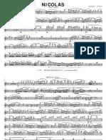 Marcia Sinfonica - NICOLAS - [Parti Staccate] (MAGNIFICI PASQUALE)