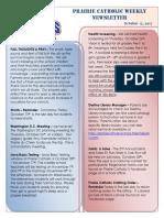 Newsletter 10 12 17
